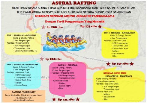 ASTRAL RAFTING Tasikmalaya