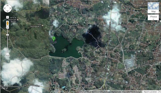 Google Map Situ Gede