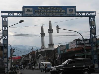 Selamat Datang di Sentra Kerajinan Batik Kota Tasikmalaya