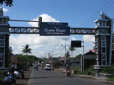 Selamat Datang di Sentra Bordir Kota Tasikmalaya