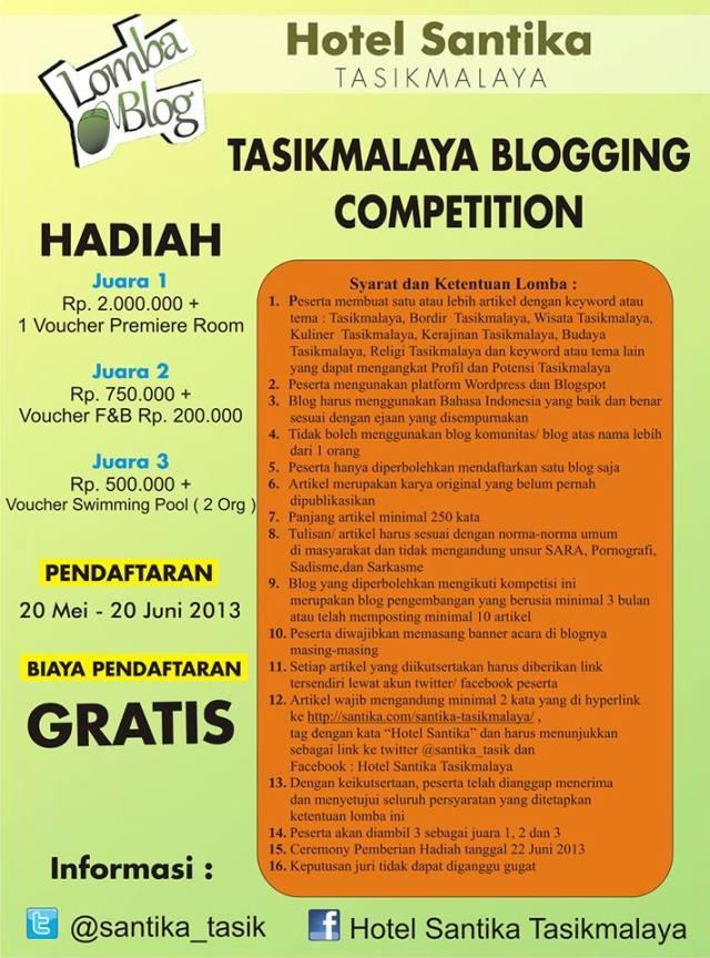 Tasikmalaya Blogging Competition