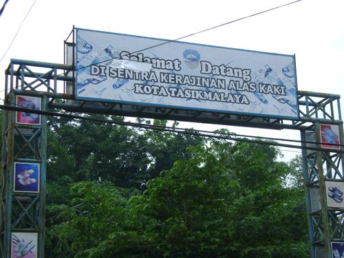 Sentra Kerajinan Alas Kaki Kota Tasikmalaya