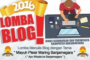 Lomba Blog Pariwisata Banjarnegara